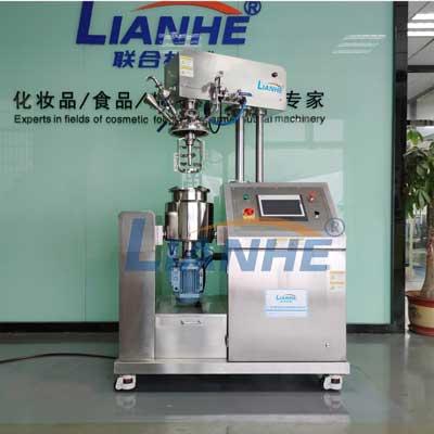 真空乳化机:实验室高剪切乳化机